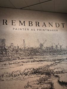 The Rembrandt: Painter as Printmaker exhibit is on view at the Denver Art Museum through January 6, 2019.